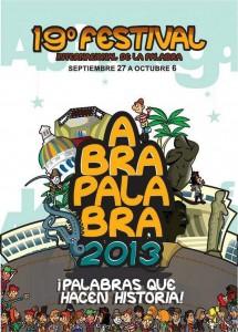 Esta es la imagen oficial de promoción de Abrapalabra 2013. - Suministrada / GENTE DE CABECERA