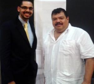 Los dos emprendedores ofrecen opciones a empresarios y afiliados a la CCB