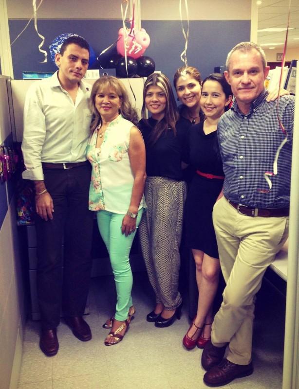 Diego Fandiño, María Ida Del Río, Diana Colmenares, Gloria Ordoñez, Andreita Obregón y David Guillermo Puyana. - Suministrada / GENTE DE CABECERA