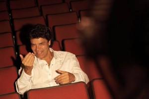 Luis Eduardo Arango está en el Teatro Corfescu. - Suministrada /GENTE DE CABECERA