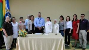 La ceremonia del cierre de la auditoría contó con la presencia de directivos del colegio. - Suministrada /GENTE DE CABECERA