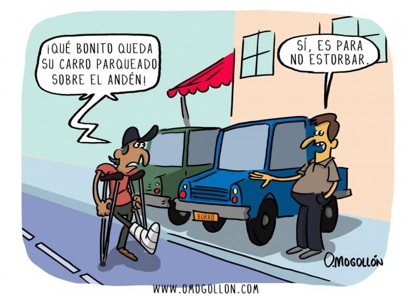 Caricatura de la semana, por Omogollón.