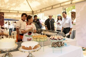 Por segundo año consecutivo se realizará en el parque San Pío Puro Sabor Social, una actividad que mostrará lo mejor de la gastronomía santandereana. - Suministrada / GENTE DE CABECERA