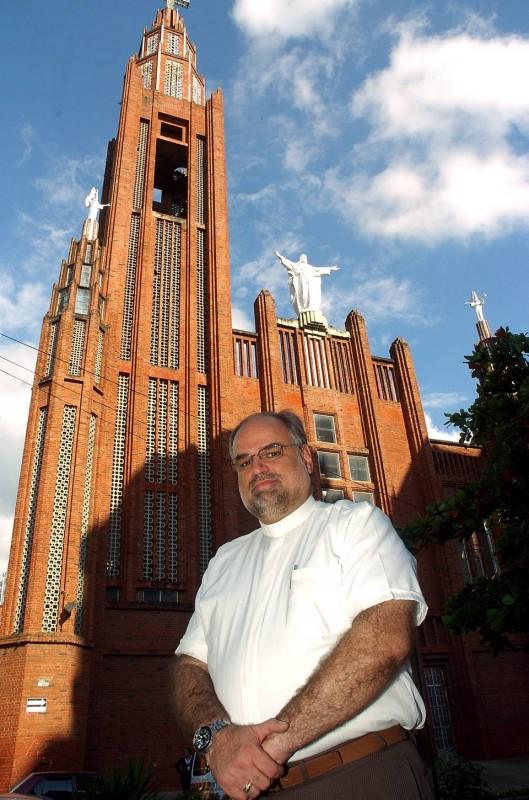 El Padre José Gabriel Gómez laboró como párroco del Sagrado Corazón de Jesús casi cuatro años