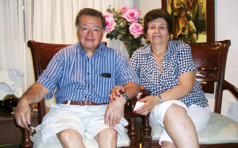 Rafael Alfonso Higuera y su esposa Hilda estuvieron en Bucaramanga hace unos meses. Llevaban casi 20 años sin visitar a sus familiares quienes también quisieron que les contaran esta historia