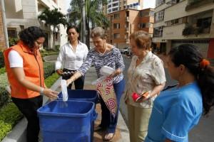 Con solo inscribirse y participar, los conjuntos y sectores tendrán un contenedor para depositar el material. reciclado. - Archivo / GENTE DE CABECERA