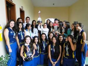 Este fue el equipo de baloncesto femenino ganador del segundo puesto en el XXXIX Departamental Supérate. - Suministrada / GENTE DE CABECERA