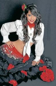 El Festival Ciudad Bonita será presentado por Lucilly Boniolla, bailadora de flamenco y presentadora de televisión. - Suministrada /GENTE DE CABECERA