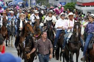 La cabalgata de la Feria Bonita se realizó el domingo 15 de septiembre. - Archivo / GENTE DE CABECERA