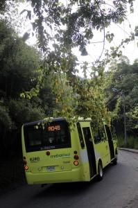 La ruta AQ4 funciona desde septiembre de 2012 y nunca ha pasado por La Floresta ni Terrazas. - Javier Gutiérrez / GENTE DE CABECERA