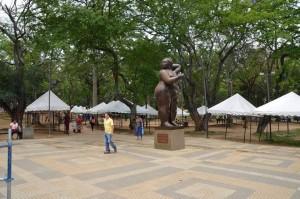 Así lució el lunes el parque San Pío, luego de Puro Sabor Social. - Suministrada /GENTE DE CABECERA