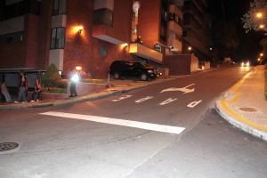 Esta calle era en doble sentido y quedó bajando de la carrera 40 a la 39A. - Javier Gutiérrez /GENTE DE CABECERA