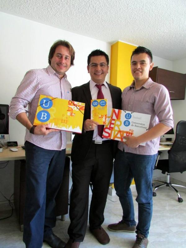 Suministrada / GENTE DE CABECERA Estos son los ganadores de la agencia Publicity: Emerson Martínez, director de proyectos, Roberto Martínez, director general, Brian Quiroz, creativo.