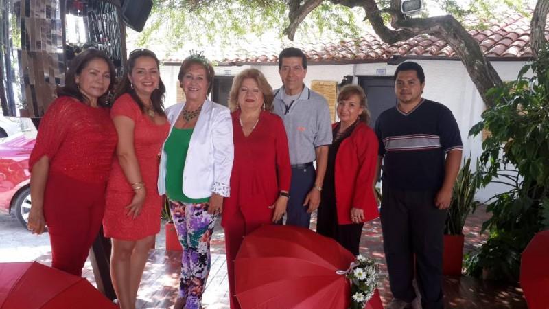 Nancy Quintero, Olga Millán, Fanny Ramírez, Cielo Méndez, Carlos Buitrago, Fanny Cárdenas y Jorge Hernández. - Suministrada /GENTE DE CABECERA
