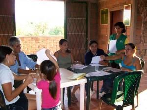 La Fundación Transformar trabaja con las familias de escasos recursos de Guatiguará, en Piedecuesta. - Suministrada / GENTE DE CABECERA