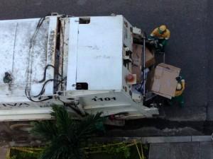 El camión que recoge el reciclaje tiene una ruta semanal en los barrios de Bucaramanga y el área metropolitana. - Archivo / GENTE DE CABECERA