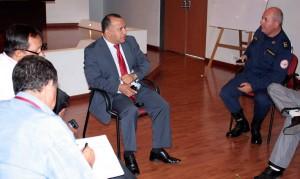 En la reunión se acordaron actividades de control a establecimientos nocturnos. - Suministrada Alcaldía de Bucaramanga / GENTE DE CABECERA