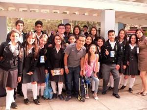 Los normalistas compartieron con los invitados al congreso. - Suministradas Daniela Visbal / GENTE DE CABECERA