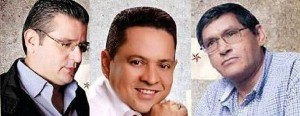 Curry Carrascal, Luis Egurrola y Jorge Valbuena. - Suministrada /GENTE DE CABECERA