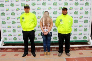 La detenida tiene dos hijos y podría pagar una pena de 9 a 24 años de cárcel. - Suministrada Prensa Mebuc / GENTE DE CABECERA