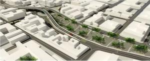 El intercambiador de la carrera 15 tendrá un paso elevado para la avenida Quebradaseca