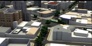 Esta es la calle 54 con carrera 27, así será la vía que comunicará al oriente de Bucaramanga con el occidente