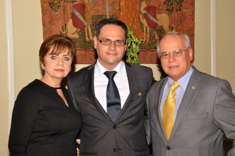 María Mercedes de Pinilla, Miguel Andrés Pinilla Valdivieso y Miguel José Pinilla Gutiérrez. - Suministrada / GENTE DE CABECERA