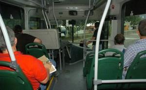 El usuario de Metrolínea pide más respeto por parte de los conductores. - Suministrada /GENTE DE CABECERA