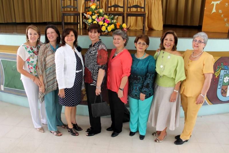 Gloria Cristina Jácome, María Stella Ordóñez, Zamara Pinilla, Beatriz Helena Dangond, Carmen Cecilia López, Luding Ocazionez, Martha Helena Pinto, y Elvira Serrano