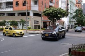 Esta es la esquina donde semalmente ocurre algún incidente de tránsito. - Jaime Del Río / GENTE DE CABECERA