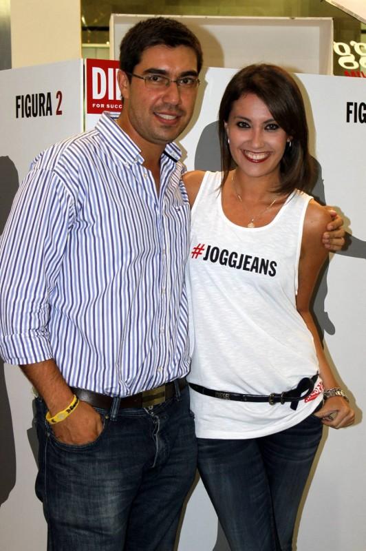 Carlos E. Arenas y Daniela Loza Clausen. - Fotos Nelson Díaz / GENTE DE CABECERA