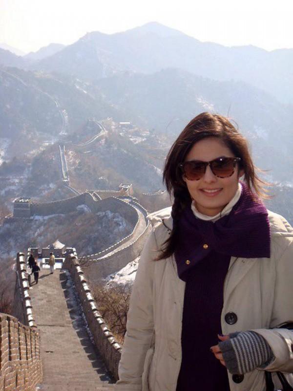 Sofía Llanos siempre ha tenido el apoyo de su familia, desde su viaje a China hasta en su incursión en la moda empresarial