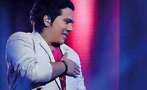 Iván Camilo es bumangués y fue una de las figuras en el género vallenato en La Voz Colombia 2013.  - Suministrada / GENTE DE CABECERA
