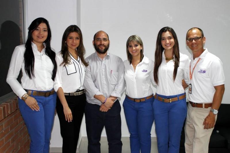 Alejandra Sandoval, Claudia Leonor Vesga, Santiago Gómez, Carolina Rey, Laura Ocazionez y Henry Téllez. - Nelson Díaz / GENTE DE CABECERA