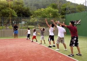 Habrá varias actividades recreativas y deportivas con los niños