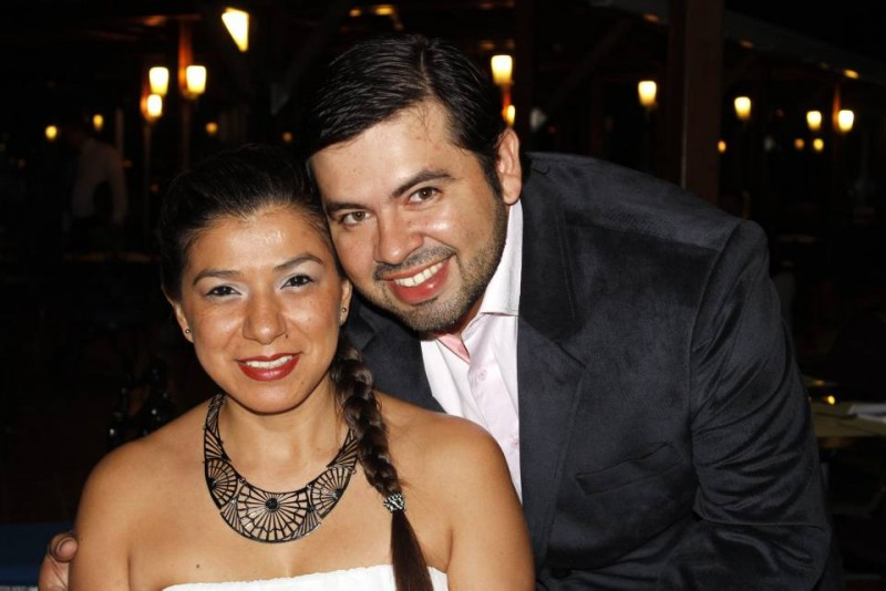 Yadira Bautista y Gabriel Quijano McCormick. - Nelson Díaz /GENTE DE CABECERA