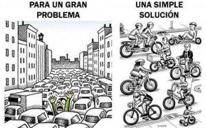Esta es una de las múltiples imágenes con las que se promueve el uso de la bicicleta en Bucaramanga. - Tomada de Facebook Mujeres Bici-bles / GENTE DE CABECERA