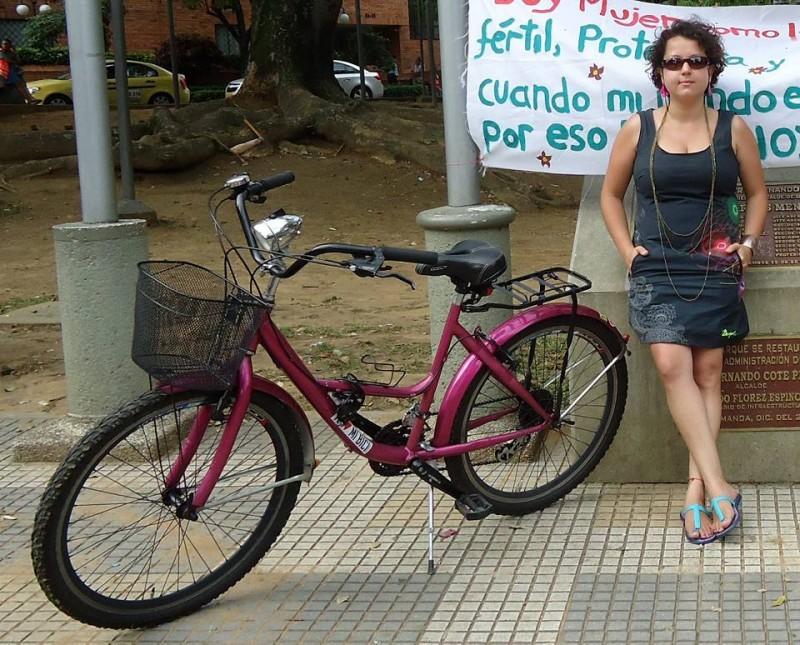 Andrea María Navarrete lidera Mujeres Bici-bles.