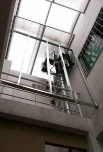 La antena en mención está ubicada en plena zona residencial de Terrazas. - Suministrada / GENTE DE CABECERA