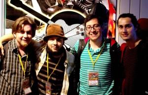 La banda ganadora de Bucaramusic 2013 fue 'Tres & yo'. Su reciente album es Mientras giro. - Suministrada /GENTE DE CABECERA