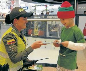 Una de las recomendaciones de la Policía es no perder de vista a sus hijos el lugares públicos.  - Imagen suministrada /GENTE DE CABECERA