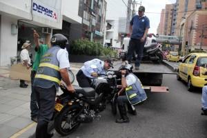 El plan rastrillo ha permitido la inmovilización de varios vehículos en el sector de Cabecera. - Javier Gutiérrez / GENTE DE CABECERA