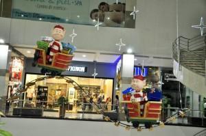 Megamall cuenta con una decoración novedosa en esta Navidad