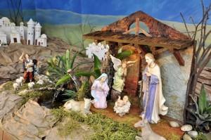 El nacimiento, uno de los espacios más importantes del pesebre