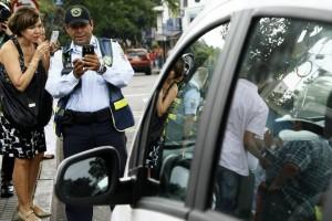 En el sistema quedará guardada la fotografía que evidencia la infracción de tránsito.