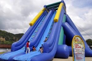 Esta es una de las atracciones más grandes del parque.