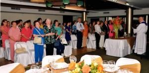 El acto de donación fue celebrado con una Eucaristía. - Suministrada / GENTE DE CABECERA