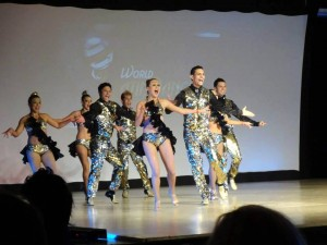 La compañía artística Clave Latina Salsa tuvo una destacada participación en la Copa Mundial de Baile Latino, en Miami. - Suministrada /GENTE DE CABECERA
