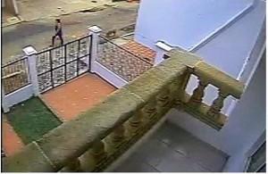 El lector quiso mostrarnos en esta fotografía cómo los perros del sector dejan sus heces en su jardín y las afueras de su casa. - Suministrada / GENTE DE CABECERA