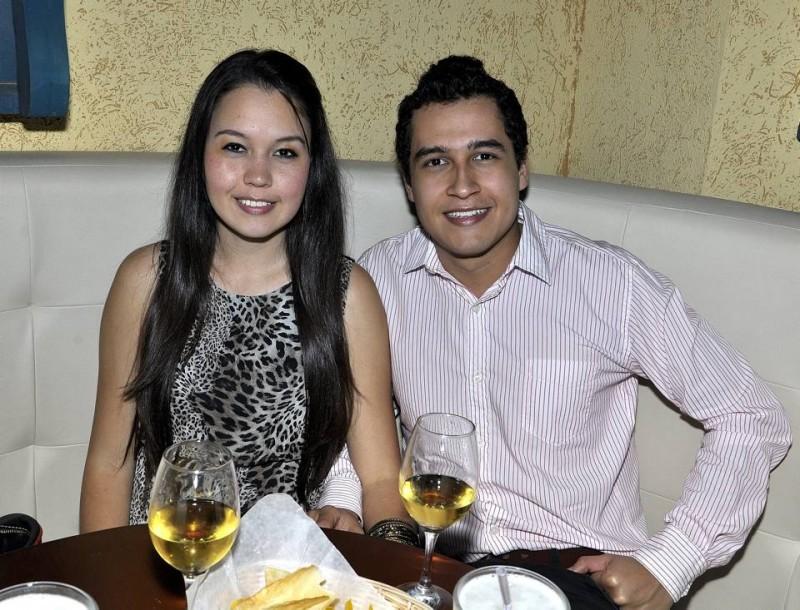 Juliana Martínez y Carlos Alarcón. - Laura Herrera /GENTE DE CABECERA